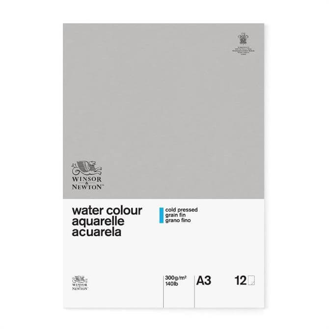 Winsor and Newton Classic A3 Water Colour Pad