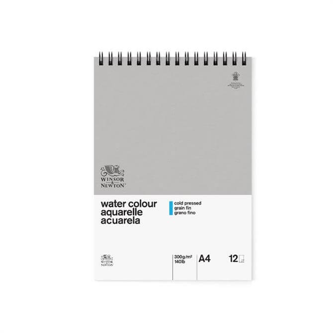Winsor and Newton Classic A4 Spiral Water Colour Pad