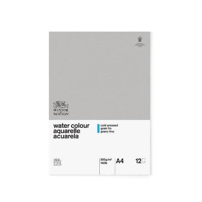 Winsor and Newton Classic A4 Water Colour Pad