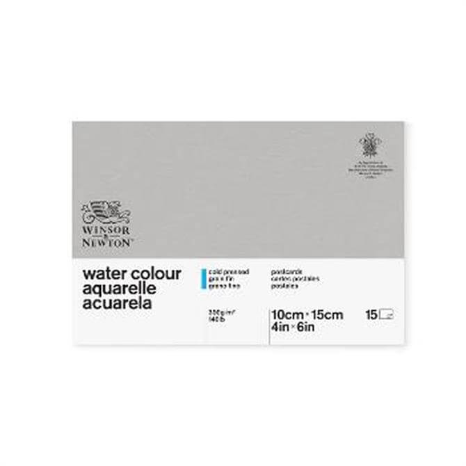 Winsor and Newton Classic Water Colour Postcard Pad