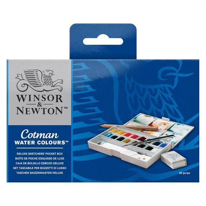 Winsor and Newton Cotman Deluxe Sketchers Pocket Box