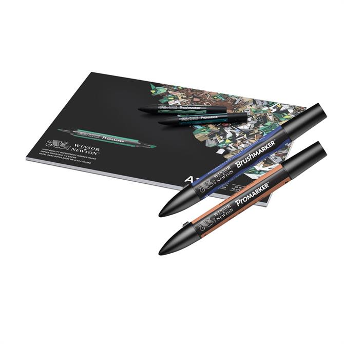 Winsor and Newton Bleedproof Paper Pad A3