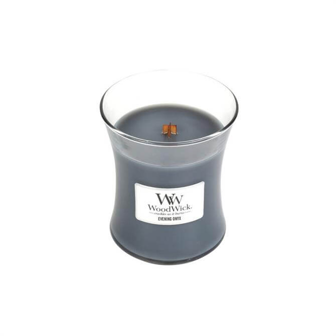 Woodwick Evening Onyx Medium Hourglass Candle
