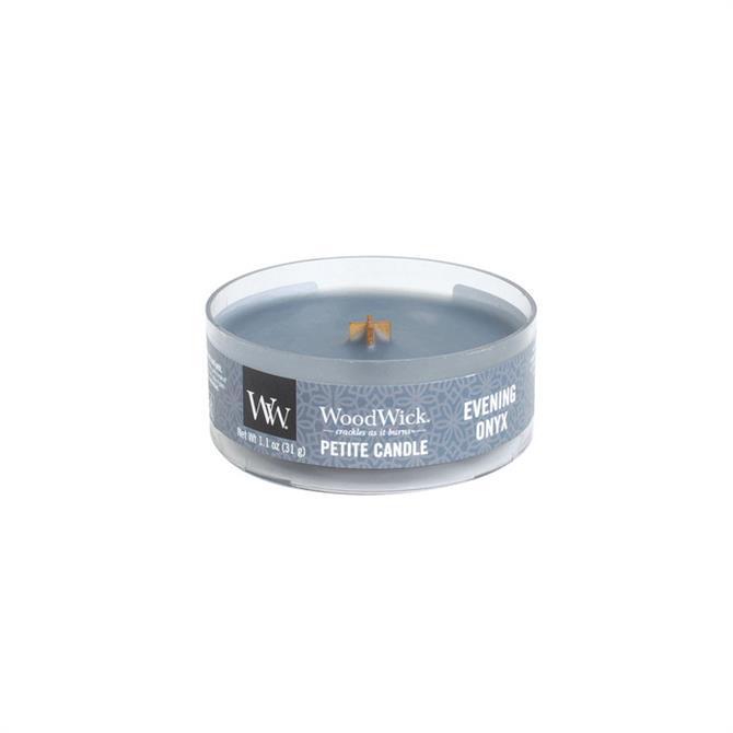 Woodwick Evening Onyx Petite Candle