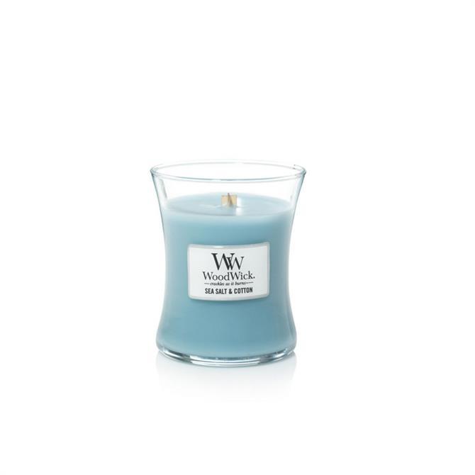 Woodwick Seasalt & Cotton Medium Hourglass Candle