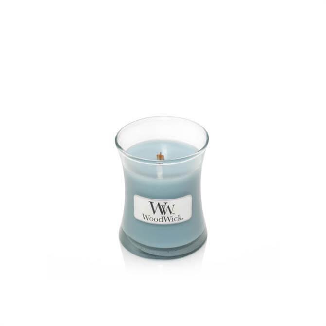 Woodwick Seasalt & Cotton Mini Hourglass Candle