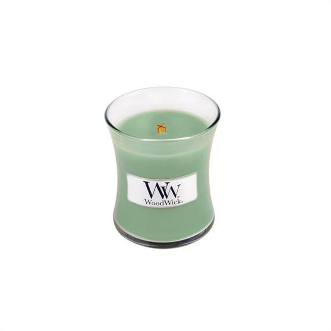 Woodwick White Willow Moss Mini Hourglass Candle