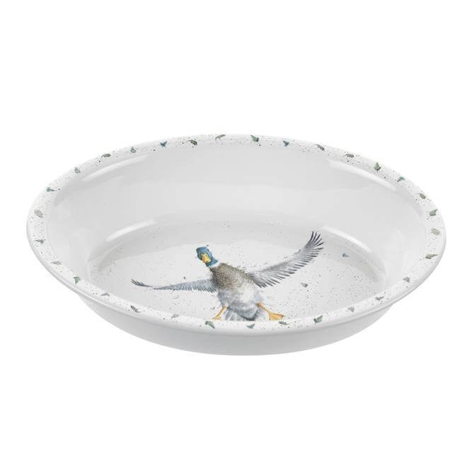 Wrendale Designs Duck Oval Rim Dish