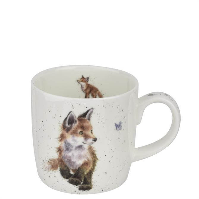 Royal Worchester Wrendale Born to be Wild Fox Mug