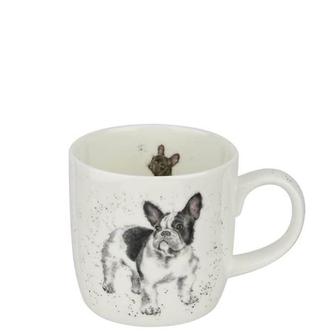 Royal Worchester Wrendale Frenchie Dog Mug