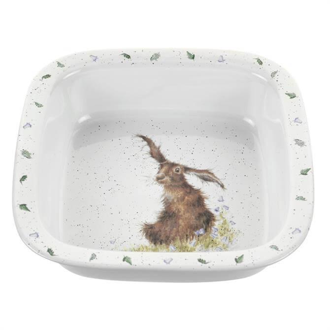 Wrendale Designs Hare Square Dish