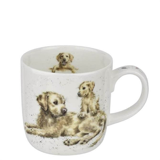 Royal Worchester Wrendale Labrador Devotion Mug