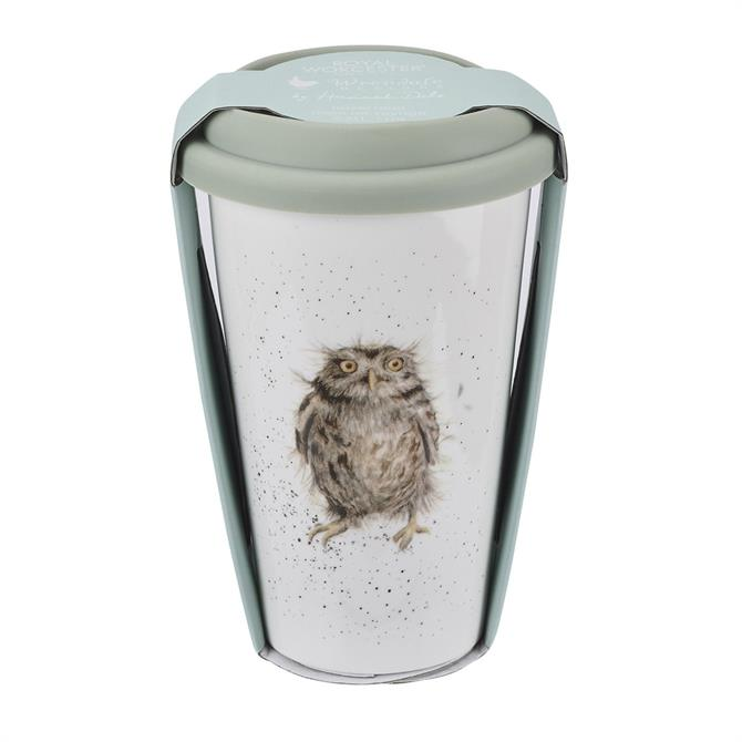 Wrendale Designs Owl Travel Mug