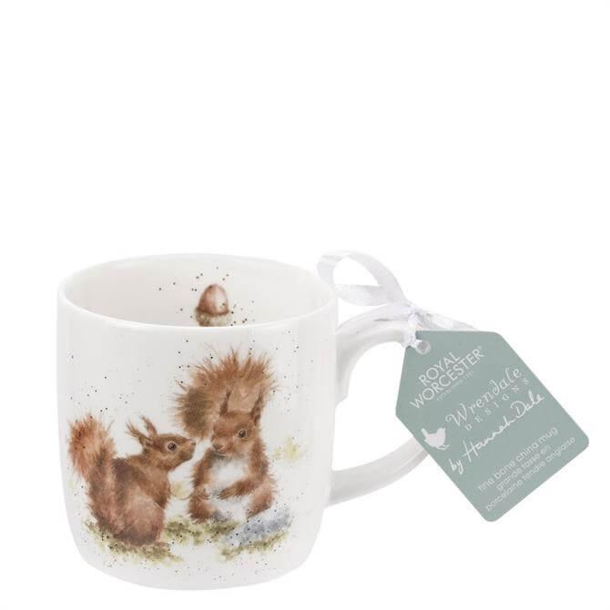 Royal Worchester Wrendale Between Friends Squirrel Mug