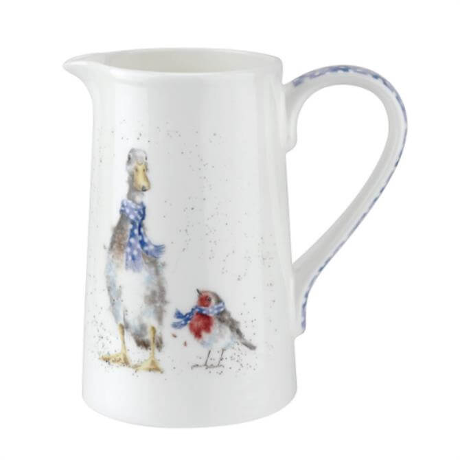 Wrendale Duck and Robin 1 Pint Jug