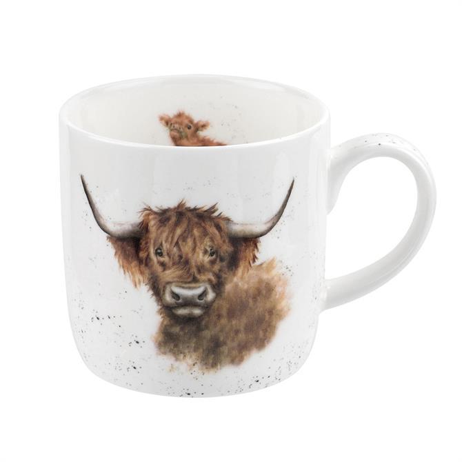 Wrendale Highland Cow Mug