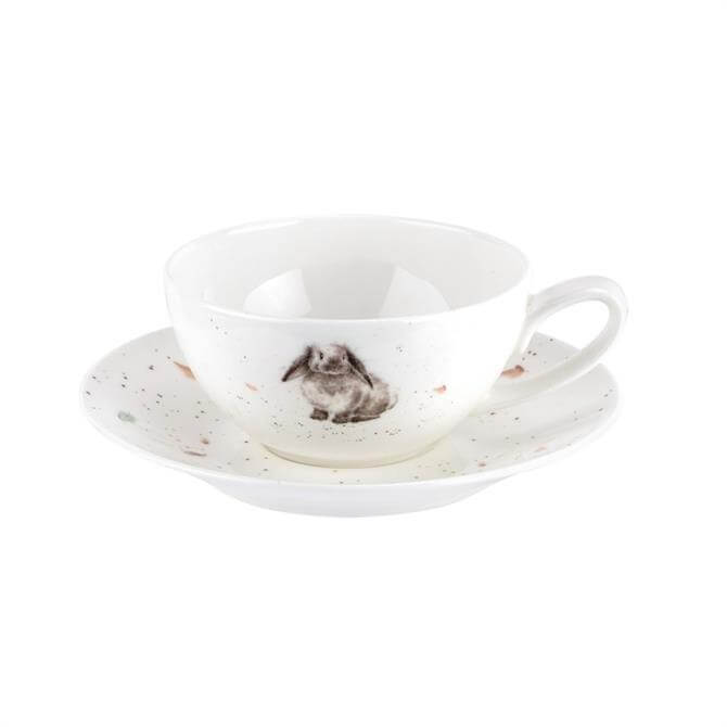 Wrendale Rabbit Small Cup and Saucer