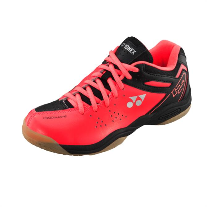 Yonex Junior Indoor Court Shoe - Red