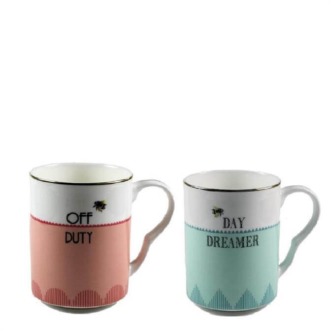 Yvonne Ellen Off Duty/Day Dreamer Mug Set