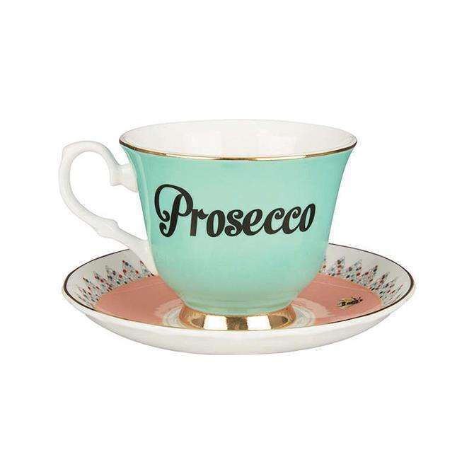 Yvonne Ellen Prosecco Tea Cup & Saucer