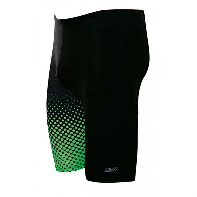 Zoggs Men's Bridge Jammer- Black/Green