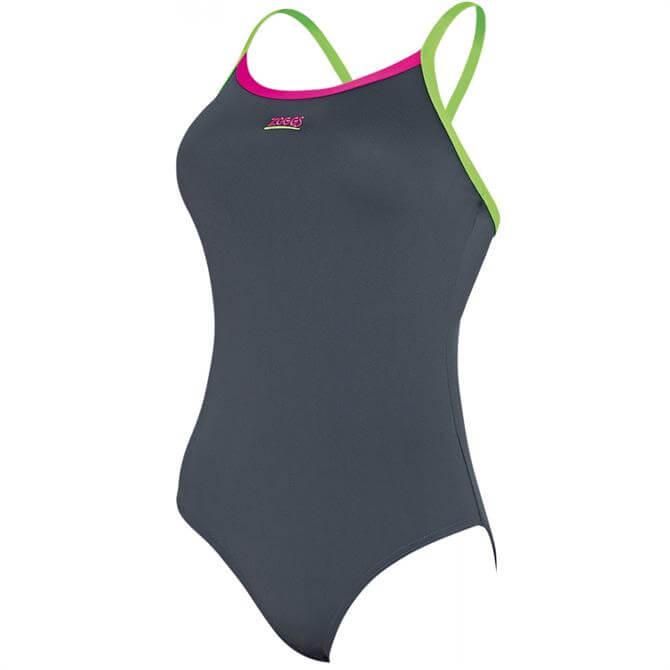 Zoggs Cannon Strikeback Swimsuit - Grey