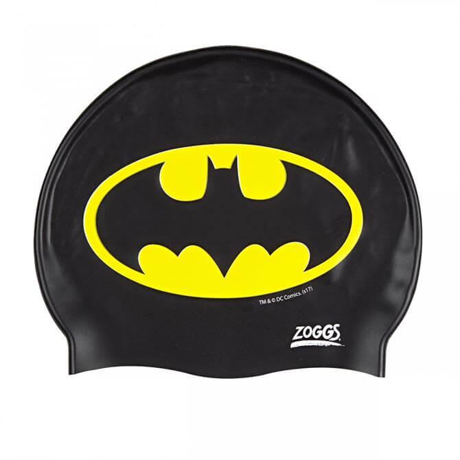 Zoggs Junior Batman Silicone Swim Cap