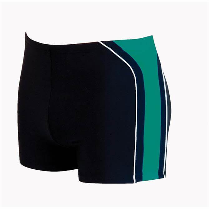 Zoggs Boston Bay Hip Racer Size 30 - Black Green