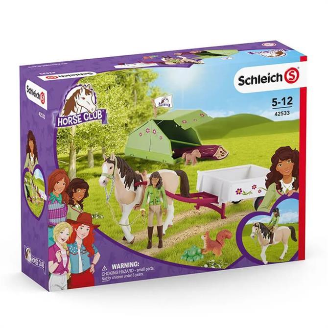 Schleich Horse Club Sarah's Camping Adventure