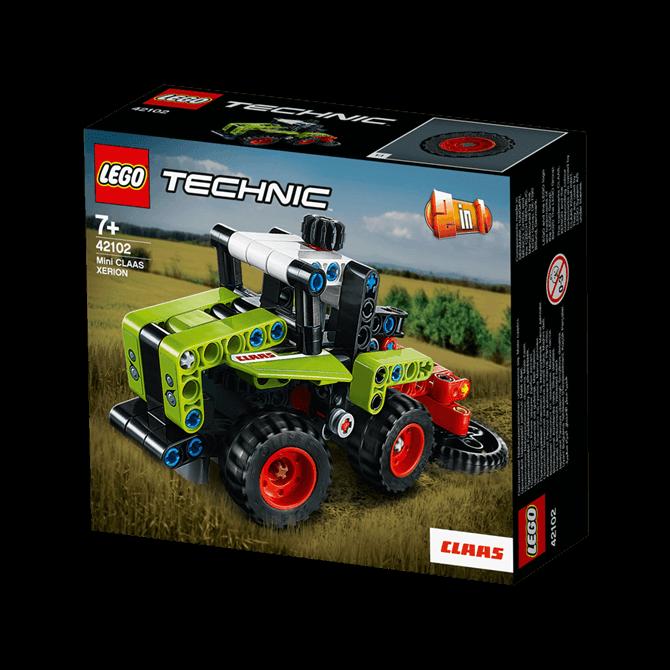 Lego Technic Mini CLAAS XERION Tractor 42102 Set