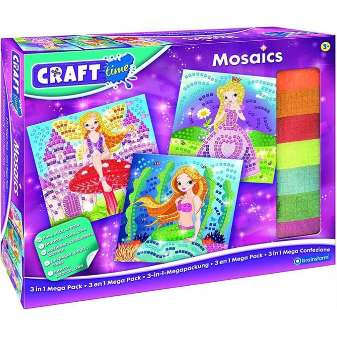 Craft Time Mosaic 3 in 1 Mega Pack