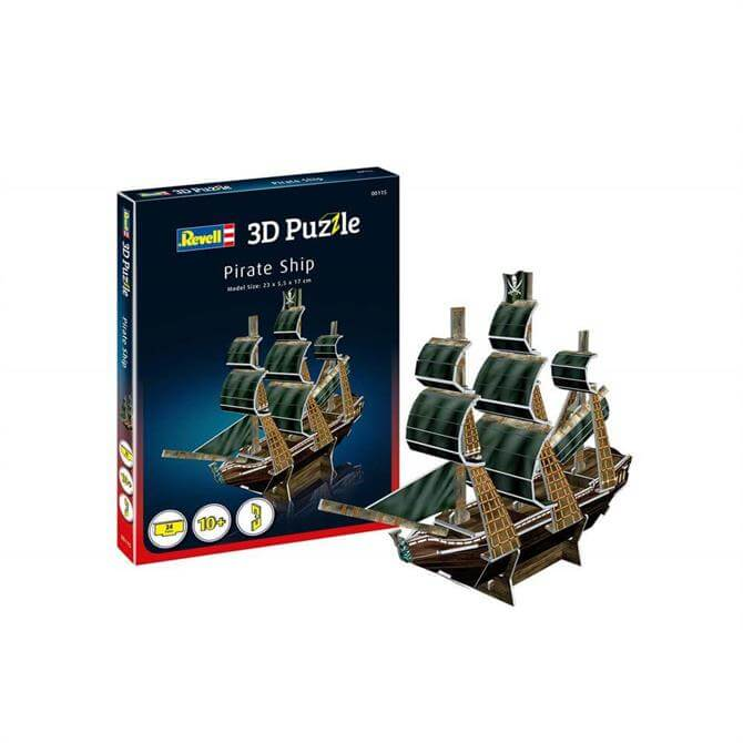 Revell Pirate Ship 3D Puzzle