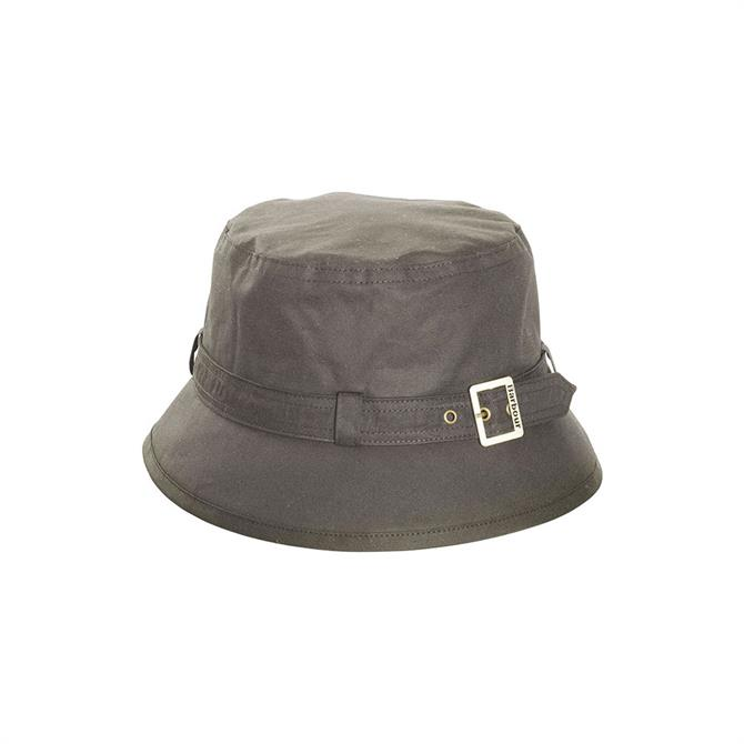 Barbour Kelso Belted Wax Hat