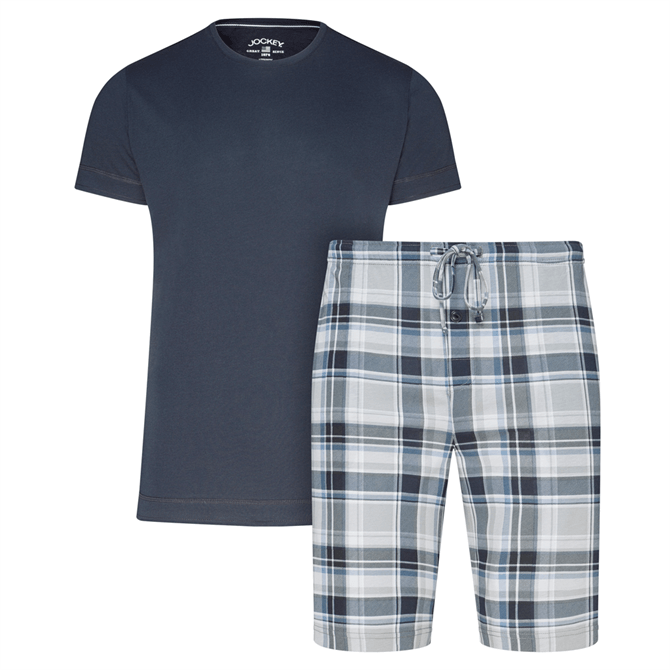 Jockey Mens Everyday Half Knit Short Pyjama Set