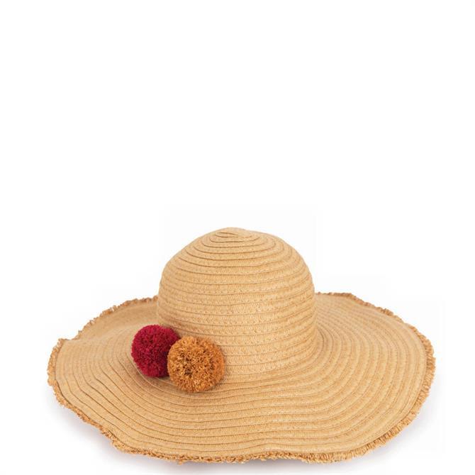Powder Designs Lana Natural Hat