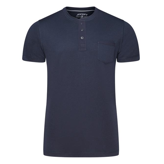 Jockey Night & Day Short Sleeve Henley Shirt