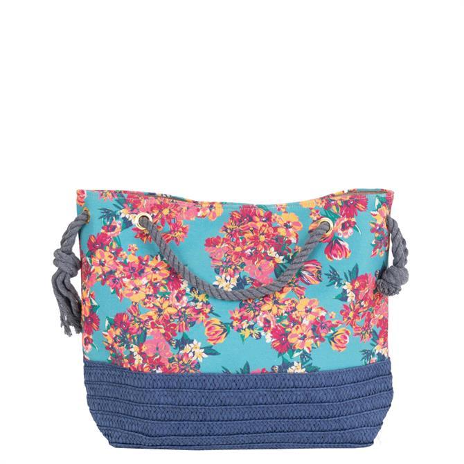 Powder Designs Summer Floral Beach Bag