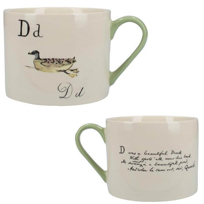 V&A Nonsense Alphabet Squat Can Mug