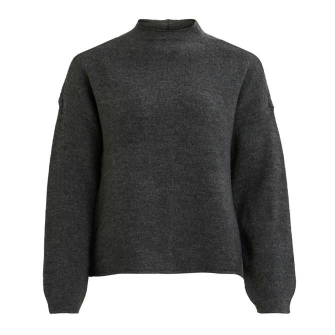 Vila Jeamine Funnel Neck Knit Sweater