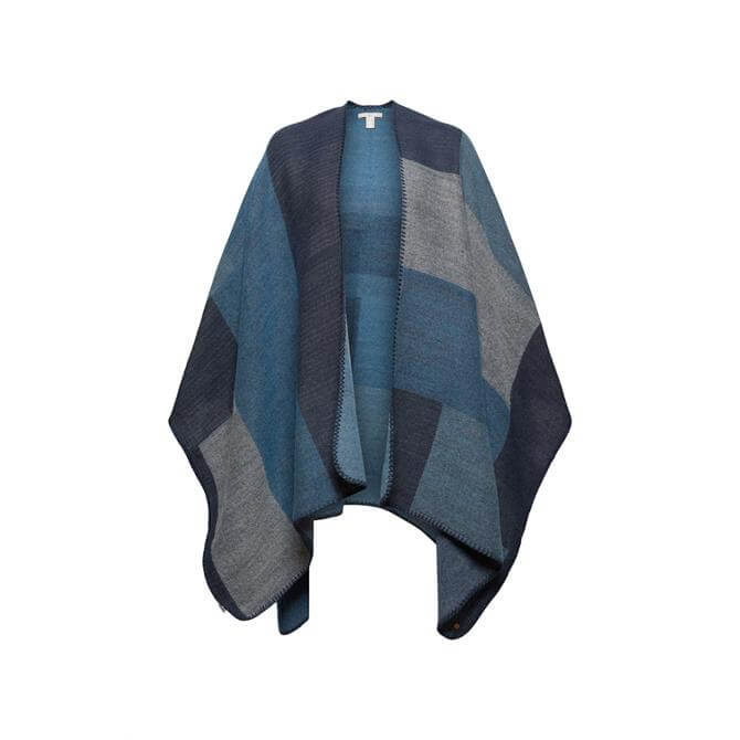 Esprit Recycled Navy Poncho