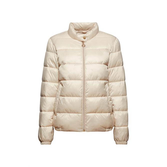 Espirit Recycled Ultra Lightweight Quilted Bomber Jacket